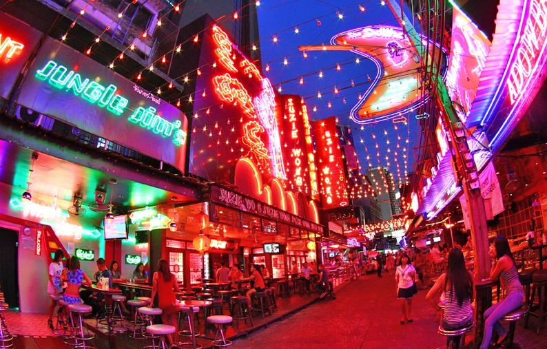 Soi Cowboy Is A Red Light District In Bangkok Mythai Online